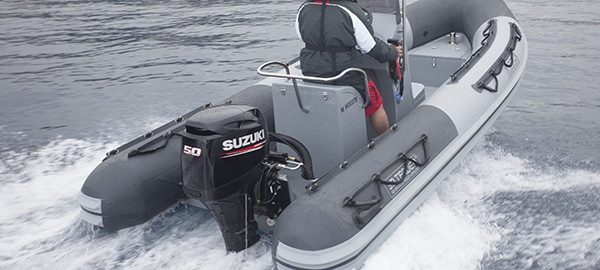 Picture of boat using DF50A/DF40A